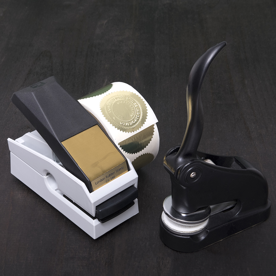 Desk Seals and Mark Maker Seals